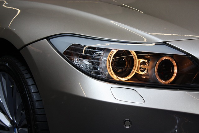 auto světlo