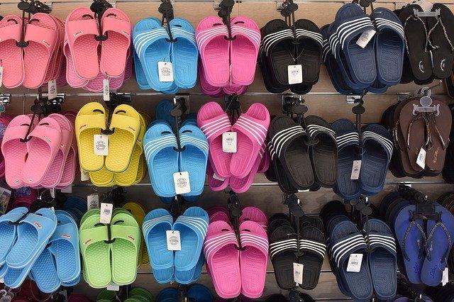 pantofle na prodej