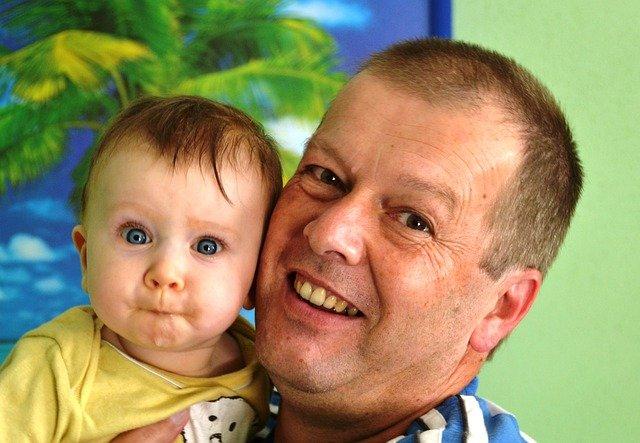 dědeček a vnuk