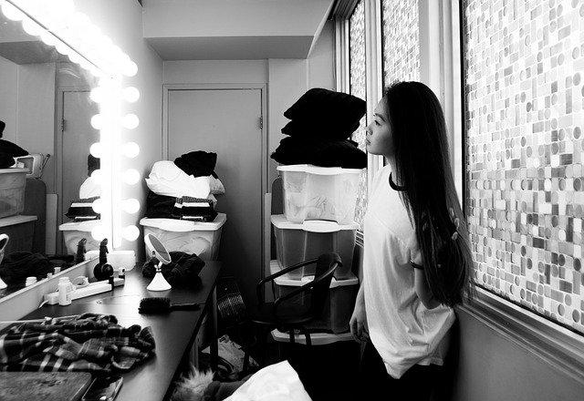 dívčí šatna