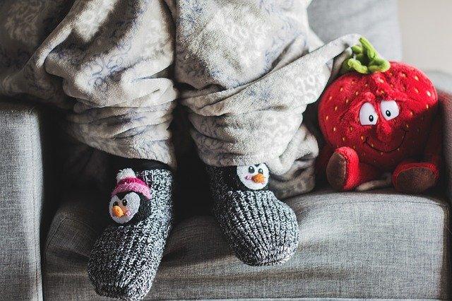 ponožky s tučňáky