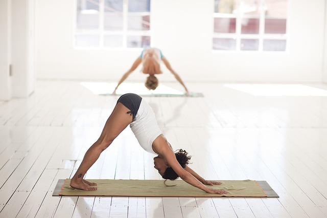 prostor na jógu